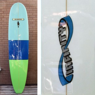 SOLD 9'0 Infinity Secret Weapon / Rad Noserider Hybrid .